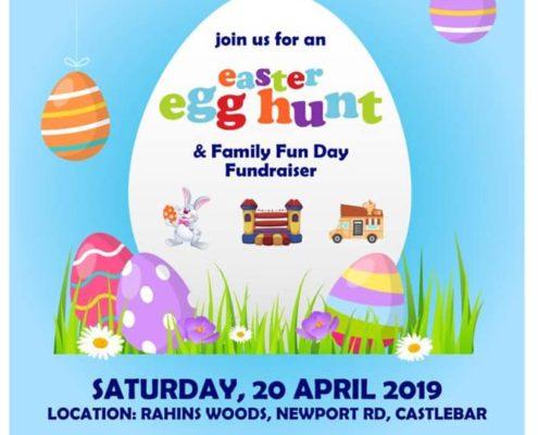 Cornanool School Easter Egg hunt