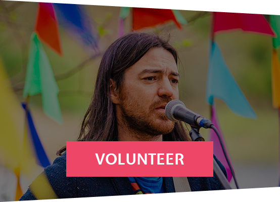 Voluteer today, Join our tribe of volunteers