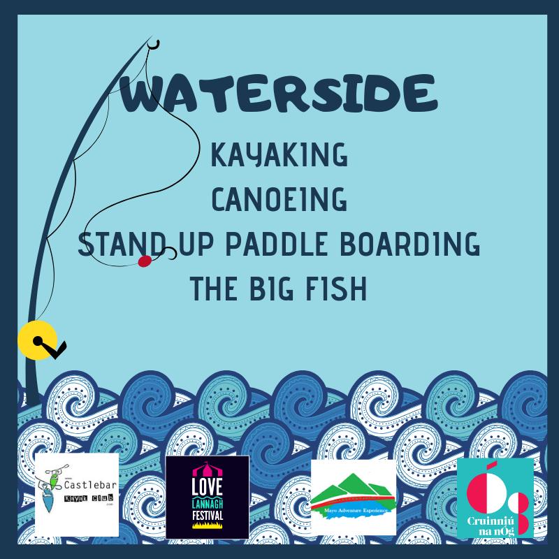 Waterside Kayaking, Canoeing, Stand Up Paddling, The Big Fish