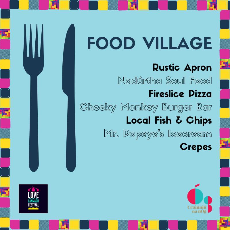 Food Village at Festival