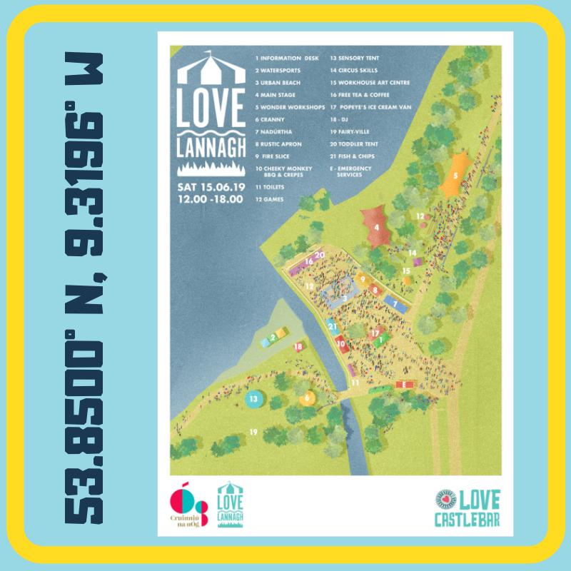 Love Lannagh Site Map 2019