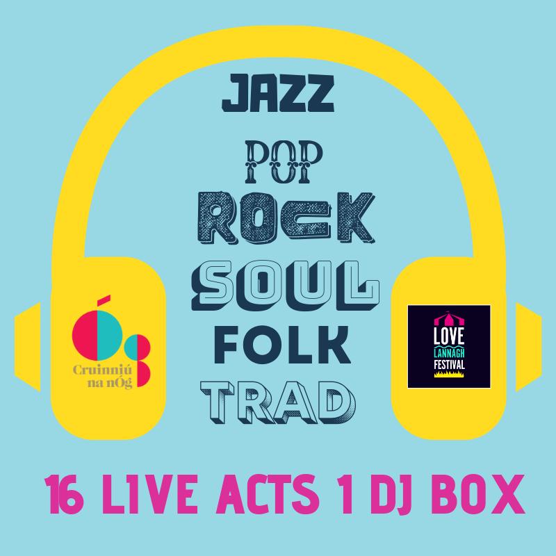 Jazz Pop Rock Soul Folk Trad Live Acts Lannagh Festival