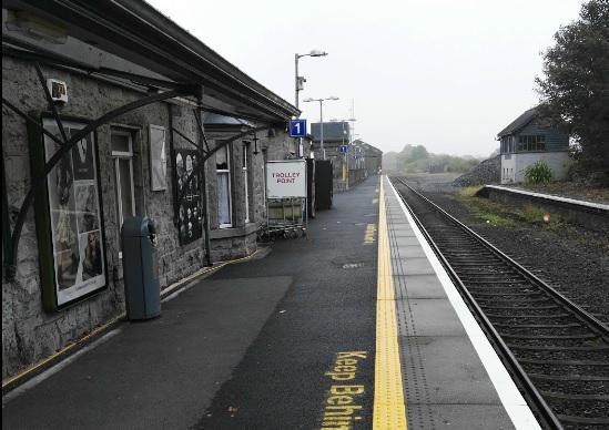 Castlebar Train Station Due for a Cho Cho Up-do